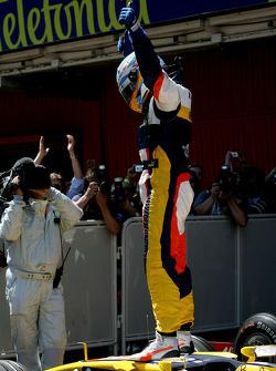 Fernando Alonso, second fastest qualifier