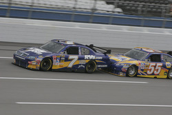 P.J. Jones and Michael Waltrip