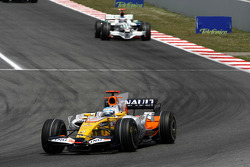 Fernando Alonso, Renault F1 Team, Jenson Button, Honda Racing F1 Team