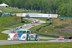 #59 Brumos Racing Porsche Riley: Joao Barbosa, JC France