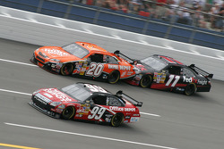 Carl Edwards, Tony Stewart and Denny Hamlin