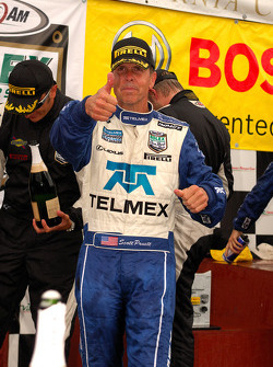 DP podium: class and overall winner Scott Pruett