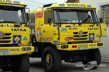Tatra Team: the Tatra 815-2ZO racing and assistance trucks