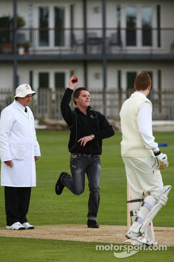 Jonny Reid, driver of A1 Team New Zealand at the Kent County Cricket ground