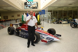 Rahal Letterman Racing team co-owner Bobby Rahal inside the Hall Of Fame Museum at Indianapolis Motor Speedway