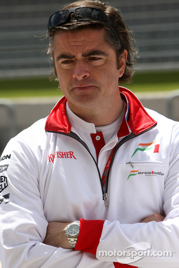 Andy Stevenson Force India F1 Team Manager