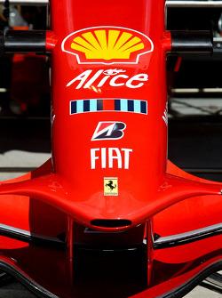 Scuderia Ferrari, F2008, Nose