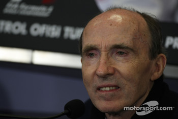 FIA press conference: Sir Frank Williams, WilliamsF1 Team, Team Chief, Managing Director, Team Principal