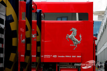 Scuderia Ferrari and FIA Trucks