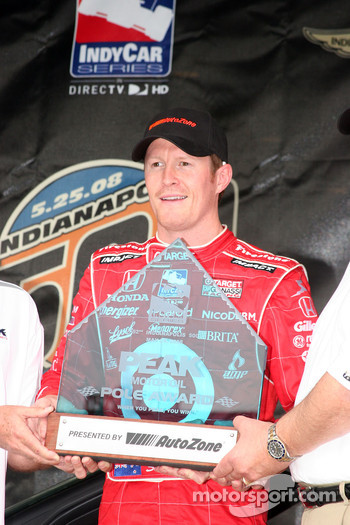 Pole Presentation to Scott Dixon