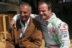 Ricardo Patrese and Rubens Barrichello, Honda Racing F1 Team