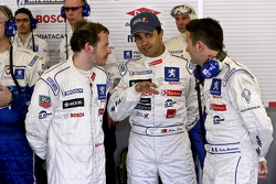 Jacques Villeneuve, Pedro Lamy and Nicolas Minassian