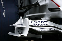 BMW Sauber F1.08 front wing detail