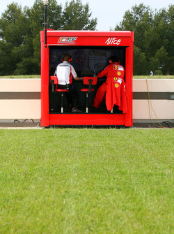 Scuderia Ferrari pitwall