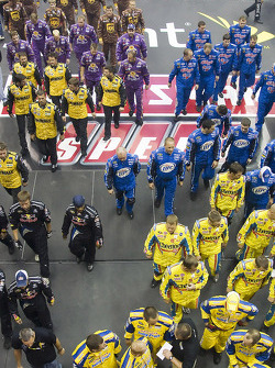 The NASCAR Sprint Pit Crew Challenge at the Time Warner Cable Arena in Charlotte