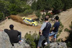 Toni Gardemeister and Tomi Tuominen, Suzuki World Rally Team, Suzuki SX4