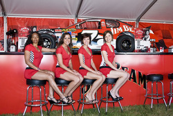 The Jim Beam girls at Lowe's Motor Speedway