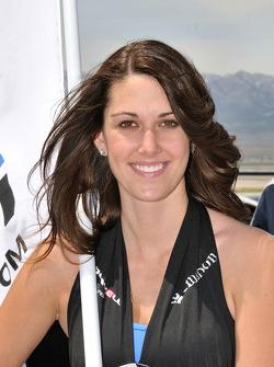 A lovely Miller Motorsports Park girl