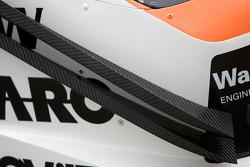 #90 Raeder Motorsport Lamborghini Gallardo detail