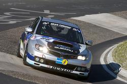 #86 Subaru NBR Challenge Subaru Impreza: Toshihiro Yoshida, Hideshi Matsuda, Naoki Hattori, Koji Matsada