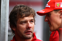Sébastien Loeb, Citroen World Rally Driver with Michael Schumacher, Test Driver, Scuderia Ferrari