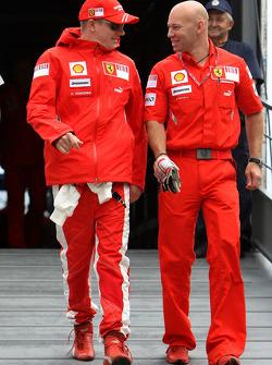 Kimi Raikkonen, Scuderia Ferrari, Mark Arnell, Personal trainer to Kimi Raikkonen