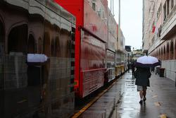 The rain in Monaco