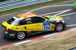 #204 Sartorius Team Black Falcon BMW 325i E90: Alexander Böhm;Matthias Unger;Marian Winz