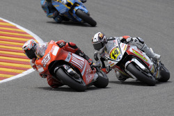 Marco Melandri and Randy de Puniet