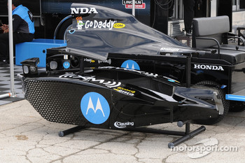 Danica Patrick's side-pods and engine cover