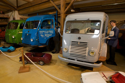 Vintage delivery vehicles