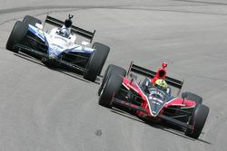 Marco Andretti and Oriol Servia