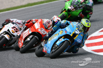 Chris Vermeulen and Marco Melandri