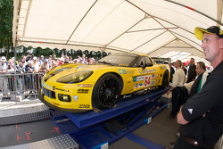 Corvette Racing Corvette C6.R at scrutineering