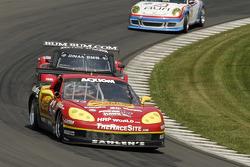 #43 Team Sahlen Corvette: Joe Nonnamaker, Wayne Nonnamaker