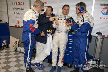 Paolo Catone, Jacques Villeneuve, Nicolas Minassian and Michel Barge