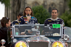 Stephan Gregoire, Vanina Ickx and Joao Barbosa