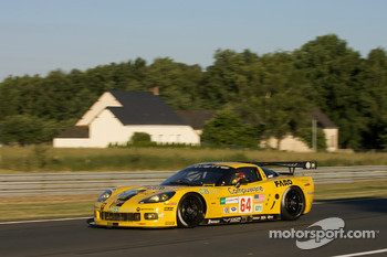 #64 Corvette Racing Corvette C6.R: Oliver Gavin, Olivier Beretta, Max Papis