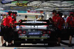 Xanavi Nismo GT-R for Satoshi Motoyama and Benoit Treluyer