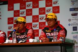 Tetsuya Yamano and Kouta Sasaki, Cusco Racing