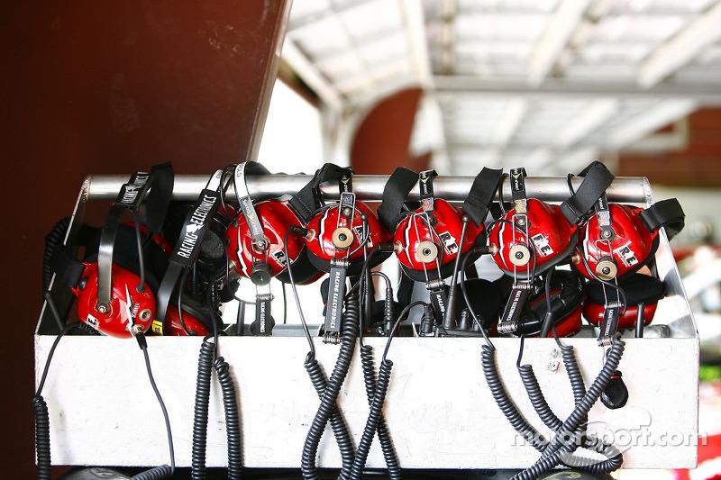Racing headsets