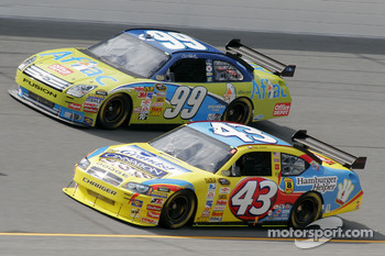 Bobby Labonte and Carl Edwards