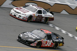 Jason Leffler and Kyle Busch