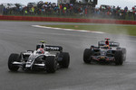 Kazuki Nakajima, Williams F1 Team, FW30 and Sbastien Bourdais, Scuderia Toro Rosso, STR03