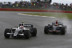 Kazuki Nakajima, Williams F1 Team, FW30 and Sébastien Bourdais, Scuderia Toro Rosso, STR03