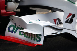 Front Wing of Alexander Wurz, Test Driver, Honda Racing F1 Team
