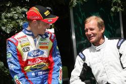 Mikko Hirvonen with Juha Kankkunen