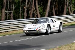 #60 Porsche 904/6 1964: Pierre-Alain France, Erwin France