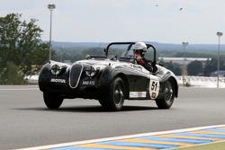 #51 Jaguar Xk 120 1952: Peter Terrell, Jean-Michel Piat