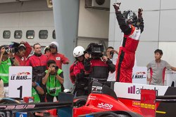Winners #8 Race Performance Oreca 03R Judd: Nicolas Leutwiler, Shinji Nakano